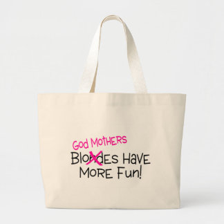 Les mères de Dieu ont plus d'amusement Sac En Toile Jumbo