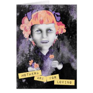 les mères sont pour aimer carte de correspondance