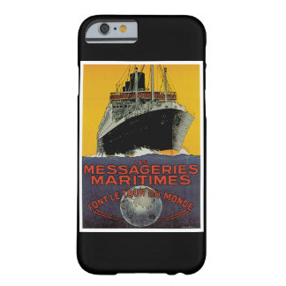Les Messageries Maritimes Barely There iPhone 6 Case
