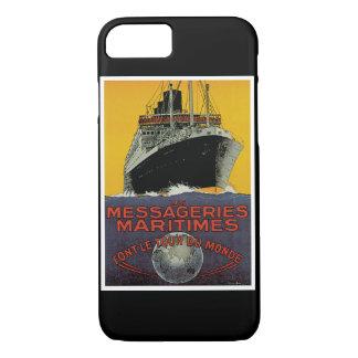Les Messageries Maritimes iPhone 7 Case