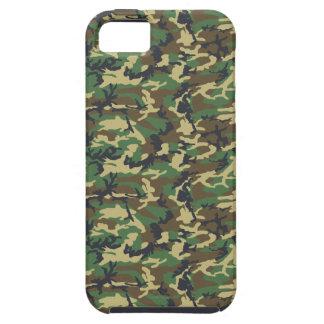 Les militaires camouflent le motif - vert jaune de coques iPhone 5 Case-Mate