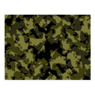Les militaires de camouflage dénomment cartes postales