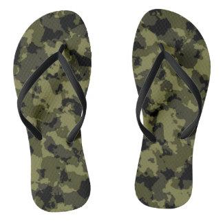 Les militaires de camouflage dénomment tongs