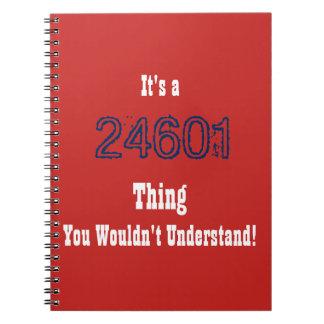 Les Mis 24601 Journal