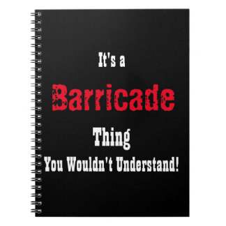 Les Miserables Barricade Journal