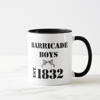 Les Misérables Love: Barricade Boys Mug