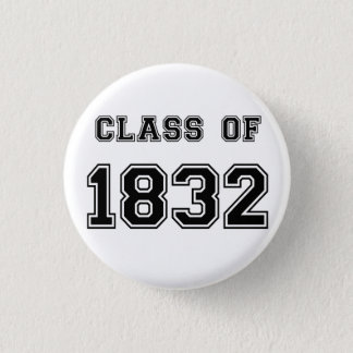 Les Misérables Love: Class of 1832 Button