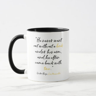 Les Miserables Mug Book Quote Victor Hugo
