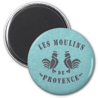 Les Moulins De Provence Magnet