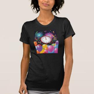 Les nouvelles années de femmes de partie le tee shirt
