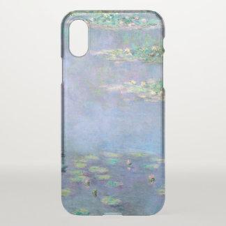 Les Nympheas Water Lilies Monet Fine Art iPhone X Case