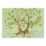 Les paires de racines d'arbre de remous Antiqued Cartons D'invitation