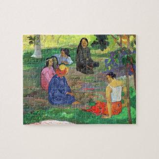 Les Parau Parau (The Gossipers) Jigsaw Puzzle