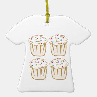 Les petits gâteaux avec arrose ornement