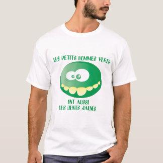 Les petits hommes verts ont aussi les dents jaunes t-shirt