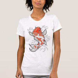 Les poissons effarouchés tatouent le T-shirt vinta t-shirts