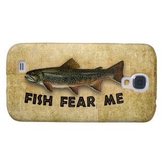 Les poissons me craignent pêche drôle coque galaxy s4