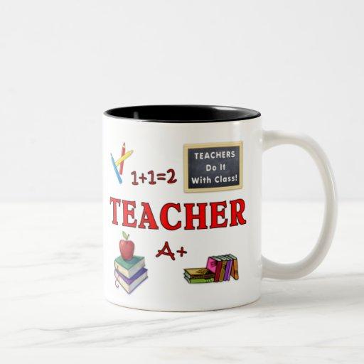 Les professeurs de tasse de cadeau de professeur