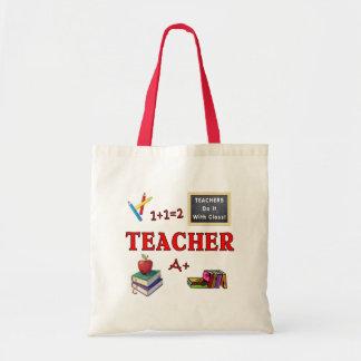 Les professeurs le font avec la classe sac en toile budget