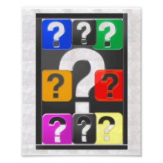 Les QUESTIONS peuvent être un ART pour les Photographies