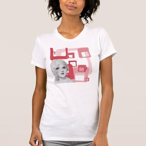 Les rétros années 1930 de pin-up t-shirts