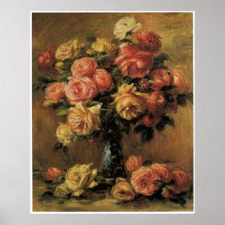 Les Roses dans un Vase., c. 1910 Poster