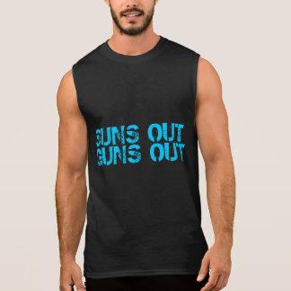 Les soleils lance la chemise sans manche t-shirt sans manches