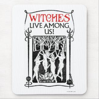 Les sorcières vivent parmi nous tapis de souris