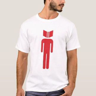 Les types ont lu le T-shirt de logo