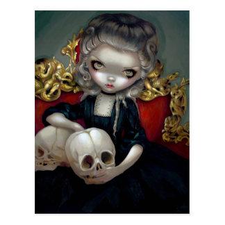 Les Vampires Les Crânes Postcard