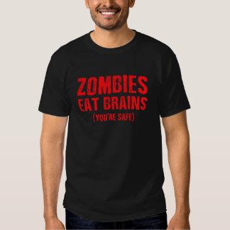 Les ZOMBIS MANGENT la pièce en t graphique de CERV T Shirts