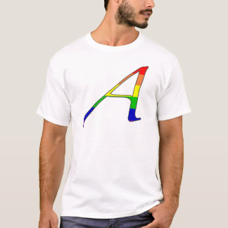 "Lesbian and Gay Pride ""Scarlet"" Letter A T-Shirt"