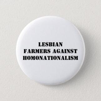 lesbian farmers against homonationalism 2 inch round button