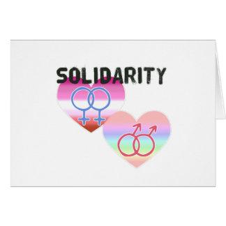 Lesbian Gay Solidarity Card