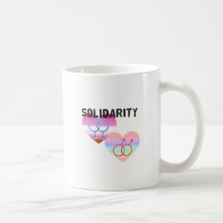 Lesbian Gay Solidarity Coffee Mug