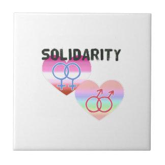 Lesbian Gay Solidarity Tile