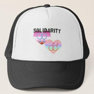 Lesbian Gay Solidarity Trucker Hat