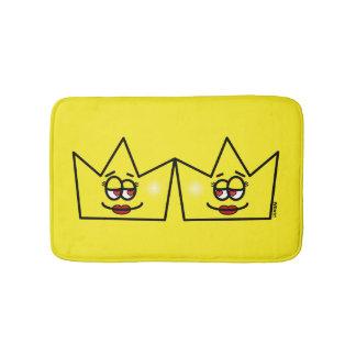 Lesbian Lesbian Queen Queen Crown Coroa Bathroom Mat