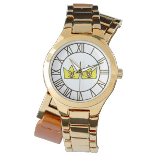 Lesbian Lesbian Queen Queen Crown Coroa - Clock Watch