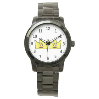 Lesbian Lesbian Queen Queen Crown Coroa - Clock Watch