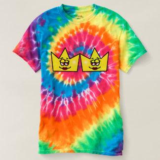 Lesbian Lesbian Queen Queen Crown Coroa T-shirt