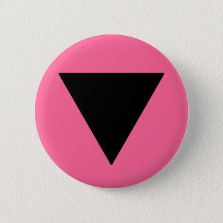 Lesbian Pride Black Triangle 2 Inch Round Button