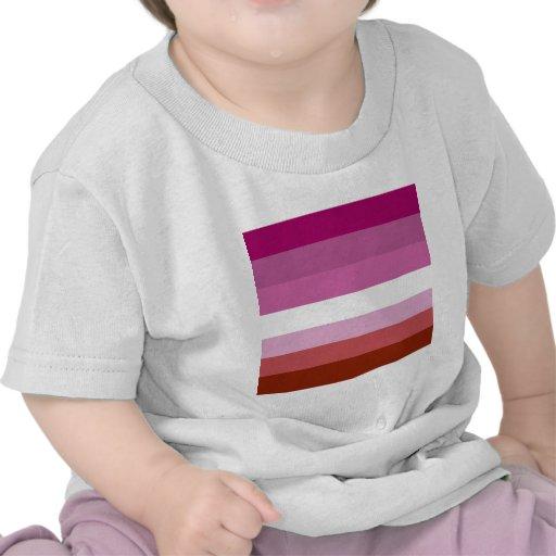 Lesbian pride flag tee shirts