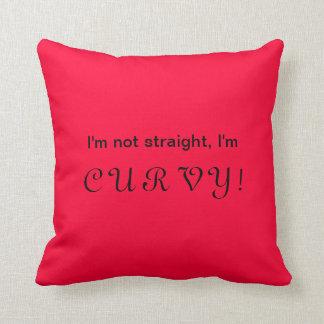 Lesbian statement throw pillow