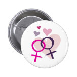 Lesbian Venus Entwined Buttons