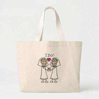Lesbian Wedding Tote Bag