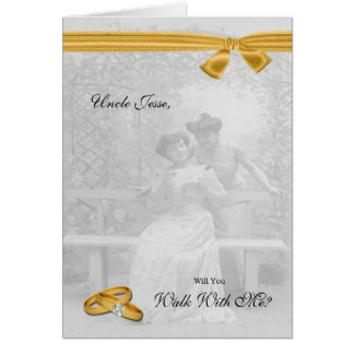 Lesbian Wedding Walk With Me Request Two Brides Card
