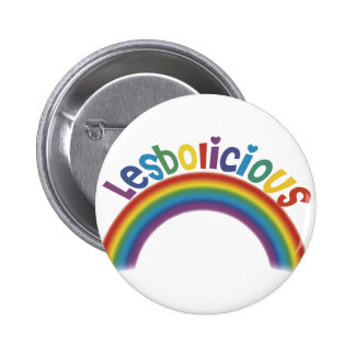 Lesbolicious 2 Inch Round Button