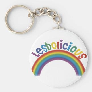 Lesbolicious Keychain