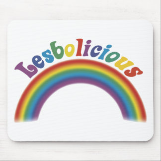 Lesbolicious Mouse Mats
